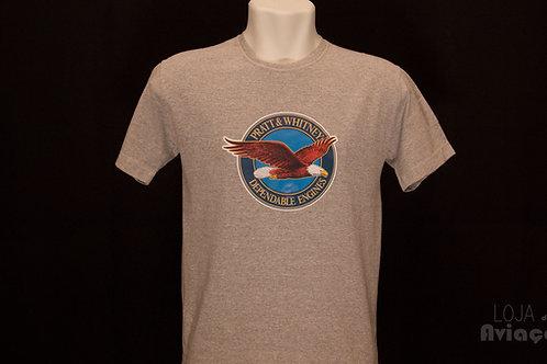 Camiseta Pratt e Whitney Aviação Manutenção