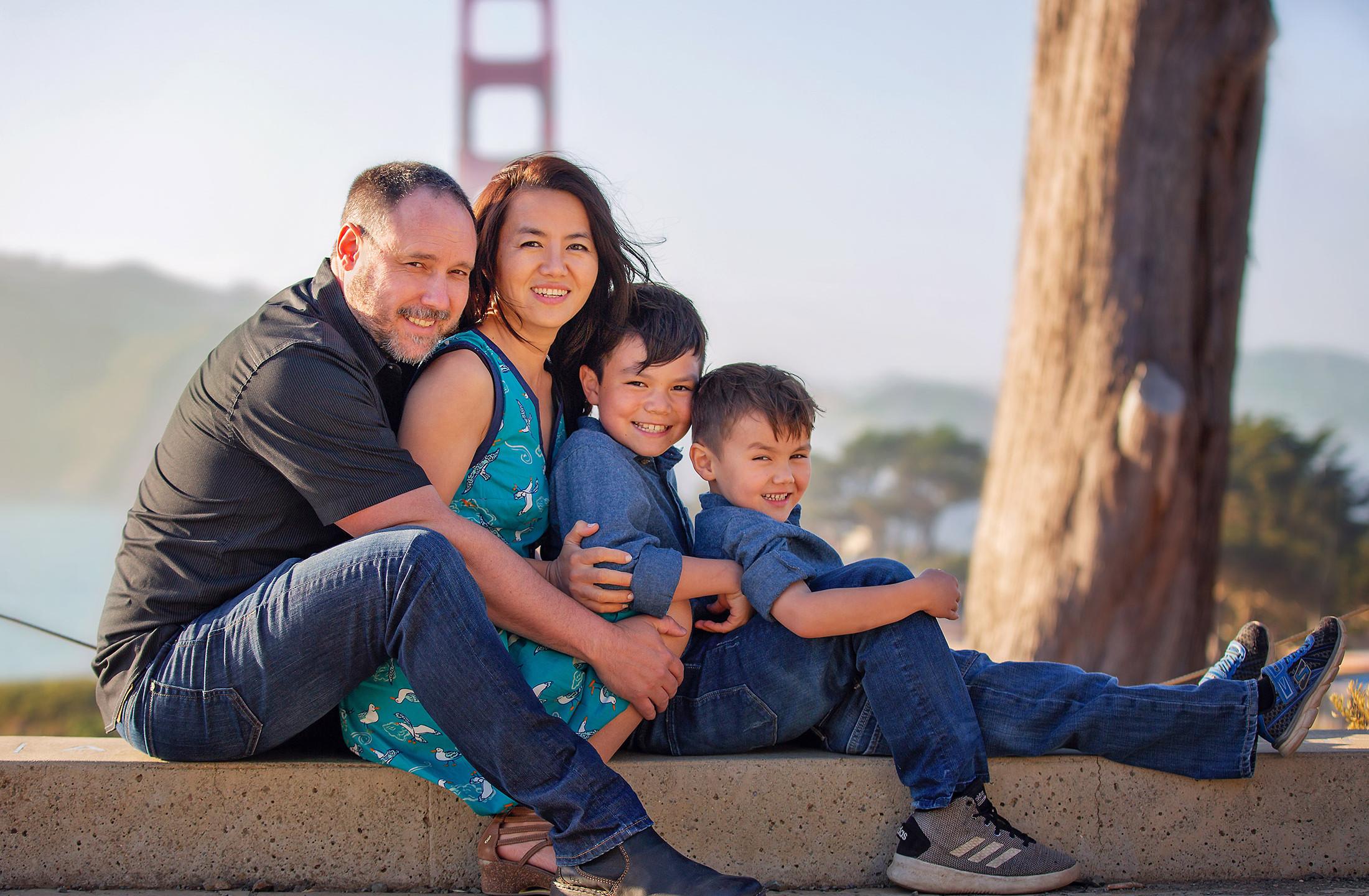 Best Family Photographer San Francis