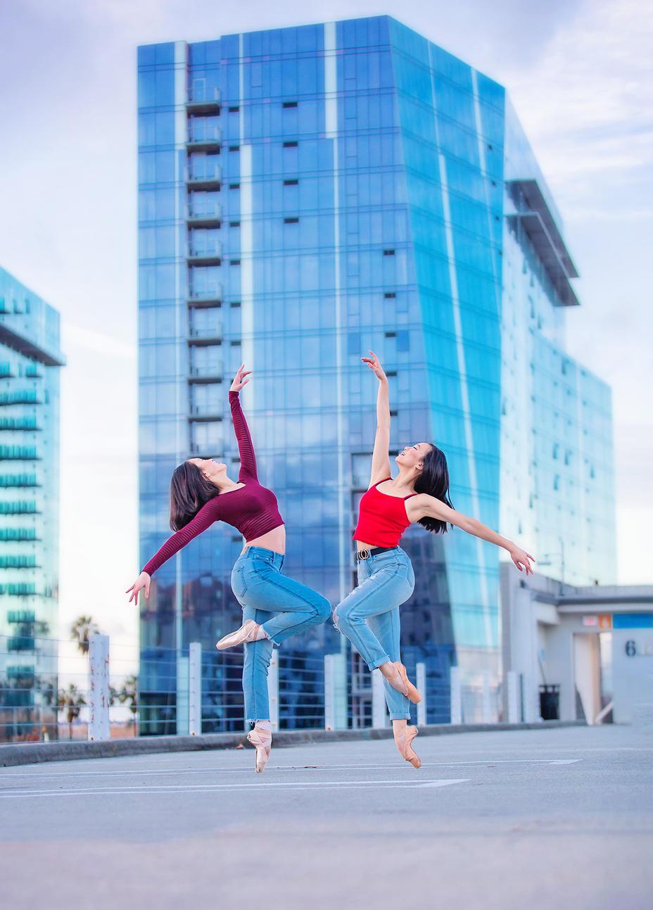 dance senior pictures San jose