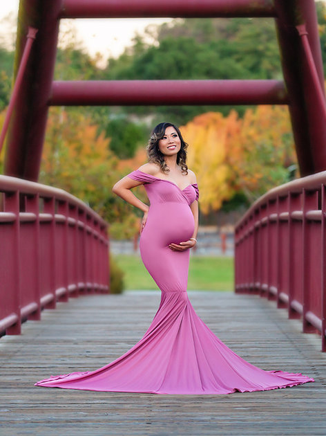 Mauve Athena Gown Convertible (Like Amethyst Color)