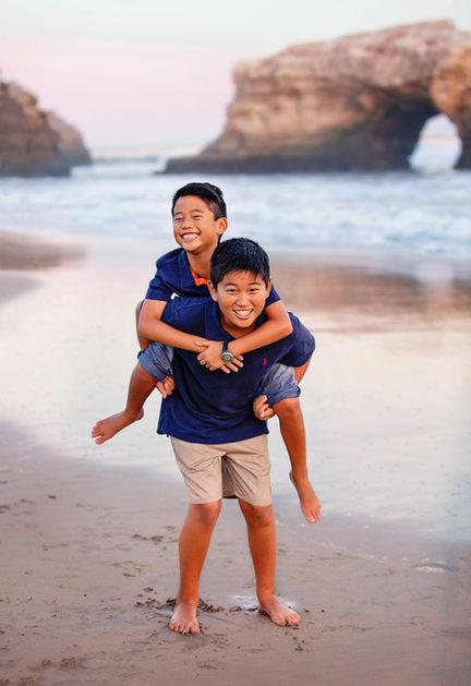 Kids photos Santa Cruz