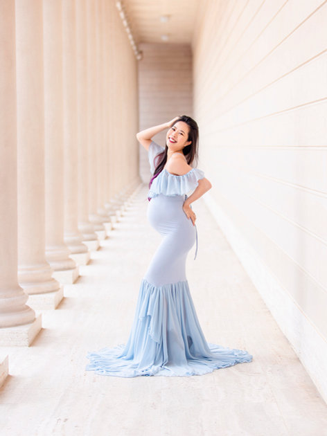 Blue Camilla Dress   Not For Beach Sessions