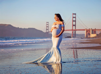 Maternity Photo Session Baker Beach, San Francisco