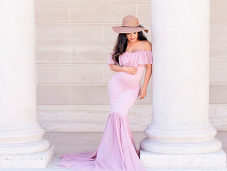 Elegant and classy maternity portraits in San Francisco