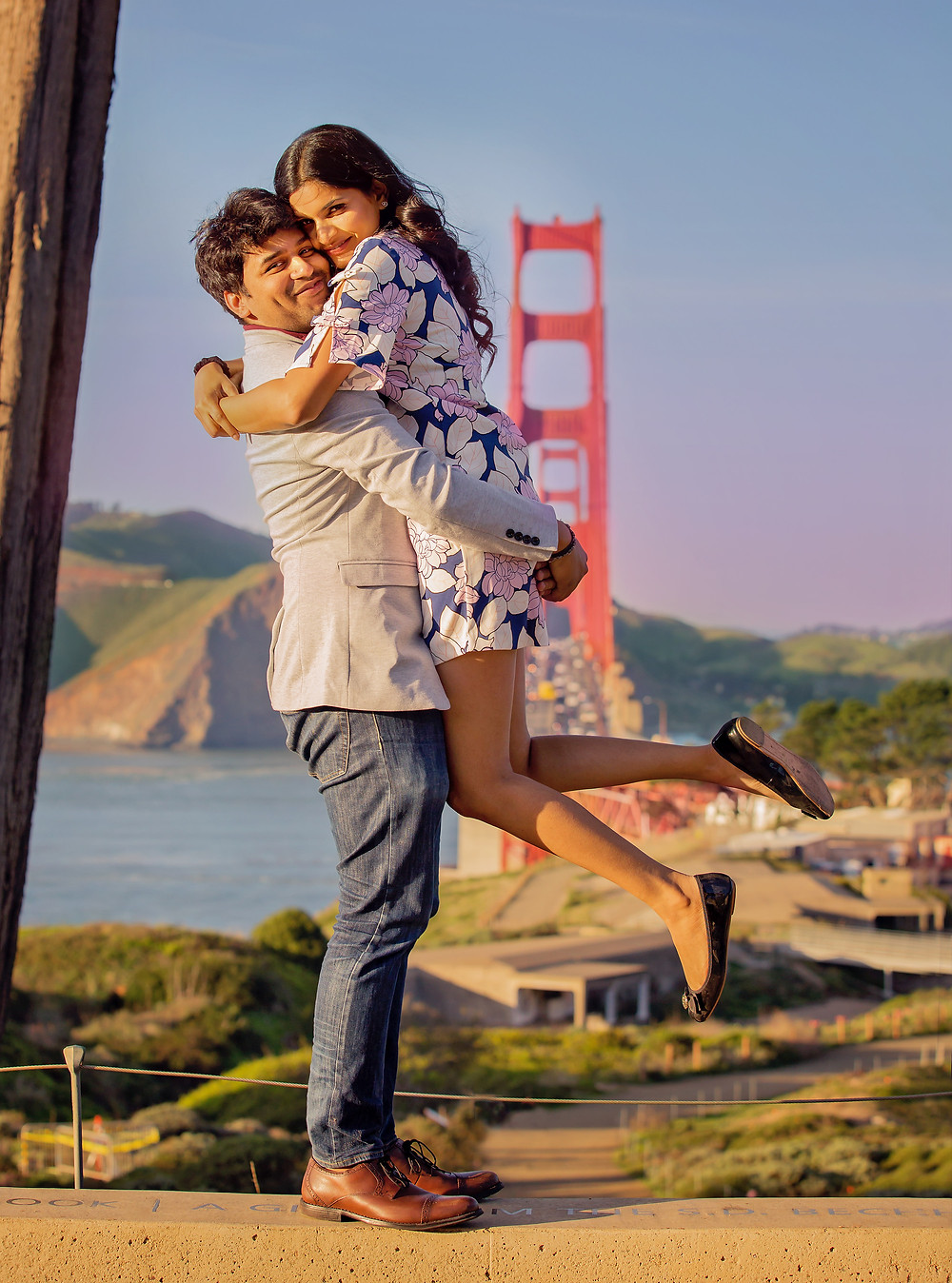 Stunning Engagement photos at the most romantic places in San Francisco