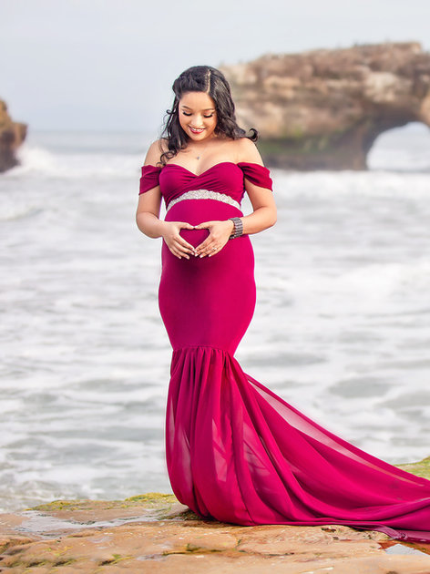 Merlot Monroe Gown