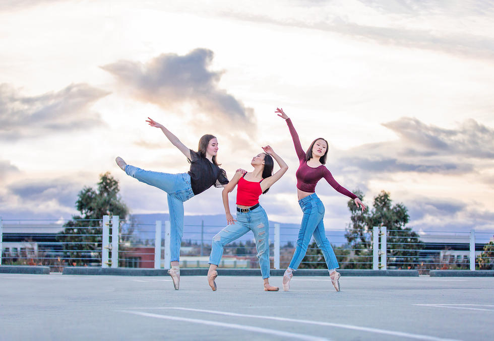Dance photoshoot San Jose