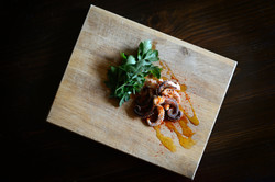 Fresh Cooked Octopus