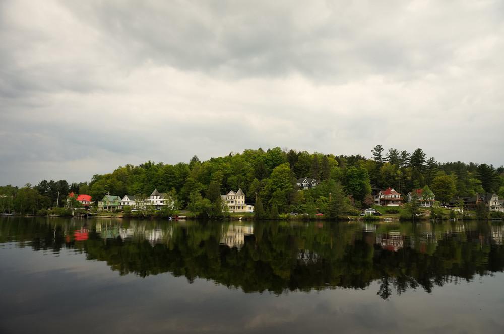 flower-lake-saranac-lake-village