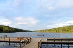 Dock on Breakneck Pond
