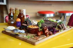Family Platter from Pik Nik BBQ