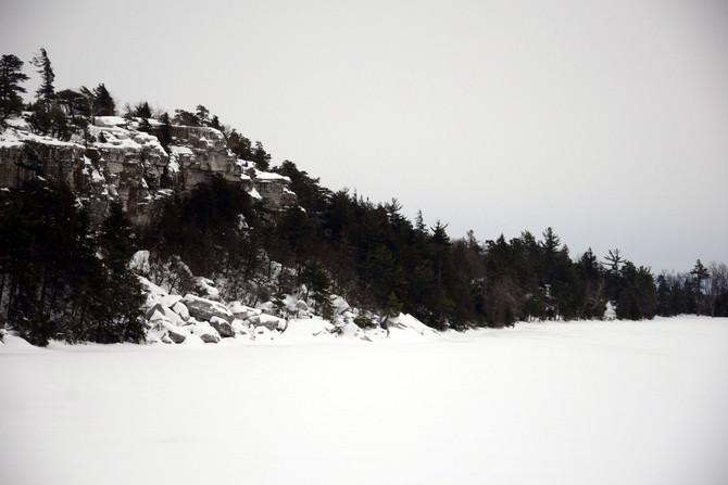 XC Skiing Minnewaska State Park Preserve, NY