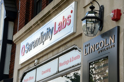 Exterior of Serendipity Labs