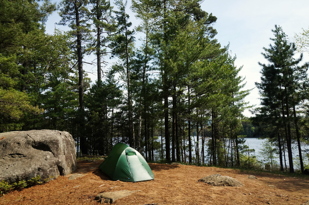 island-camping-pope-saranac-lake
