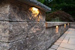 Lighting on patio