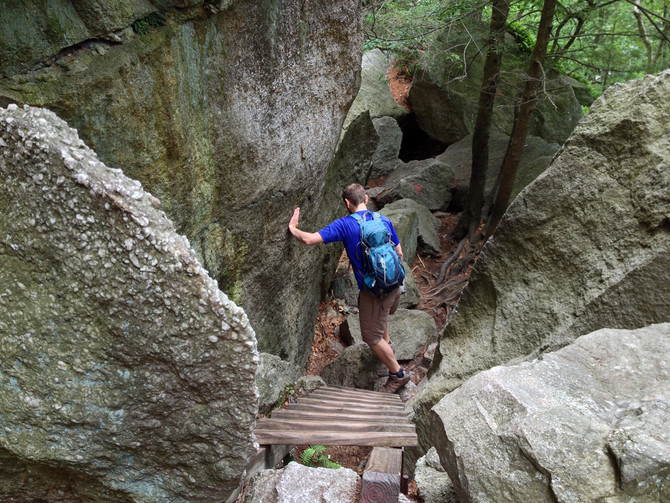 VIDEO: Mohonk to Mohonk - Biking to The Labyrinth Trail