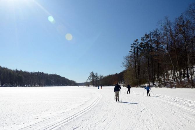 VIDEO: XC-Skiing Fahnestock Winter Park