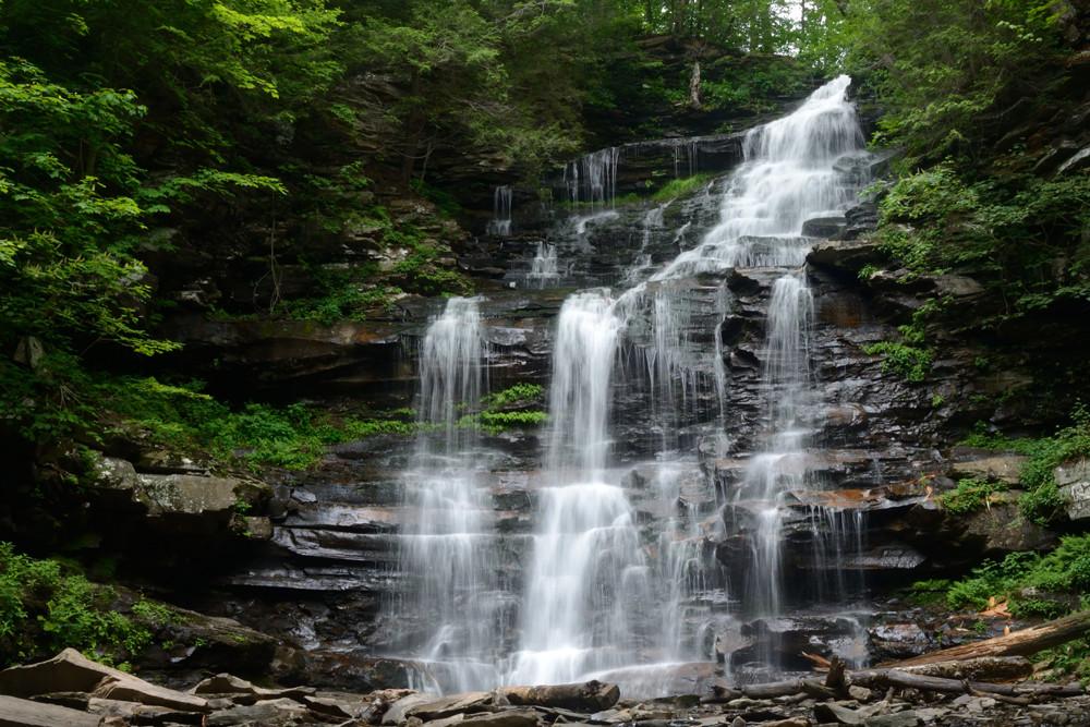Ganoga-falls-pa-hike