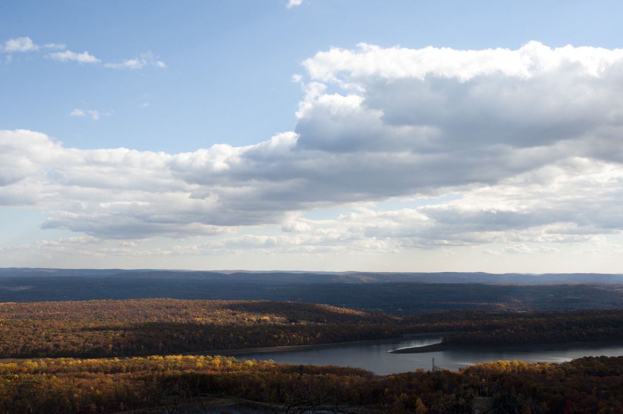Delaware Water Gap in Autumn