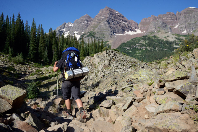 VIDEO: Backpacking Buckskin Pass to Snowmass Lake, Colorado
