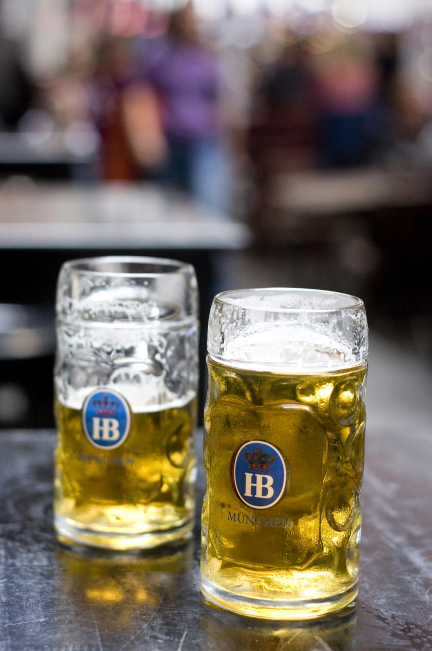 Hofbrau Haus Beers on Stone Street
