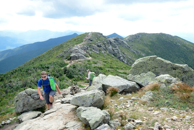 VIDEO: Preview Our Hike Along Franconia Ridge, NH!