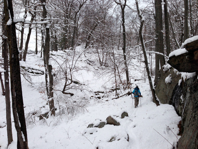 Wanderblog Submission: Winter Trekking in Harriman State Park!