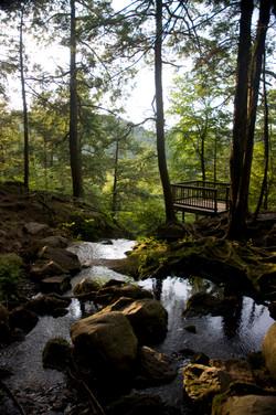 Buttermilk Falls Overlook