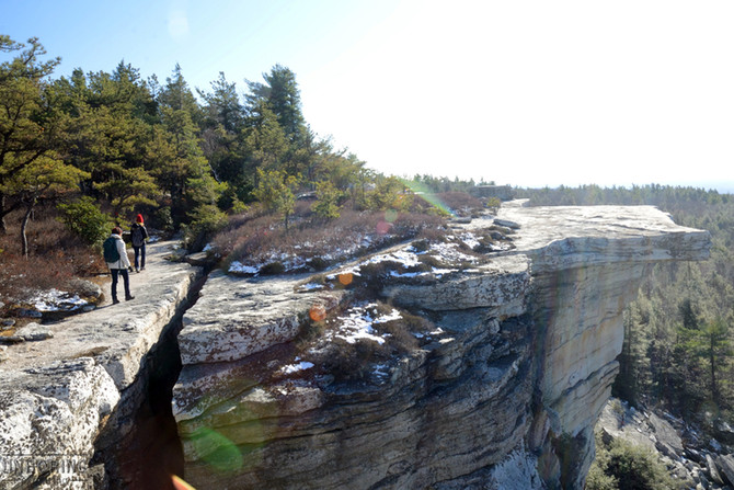 Hiking Gertrude's Nose in Minnewaska State Park!