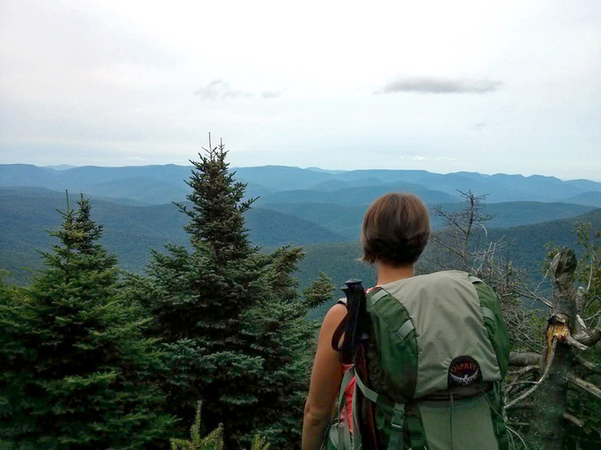 Catskill Backpacking: Slide Mountain Loop!