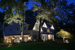 Residential Lighting at Night