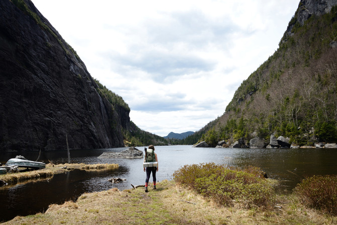 VIDEO (teaser): Backpacking the Adirondack High Peaks Wilderness!