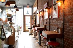 Restaurant Interior of Pik Nik BBQ