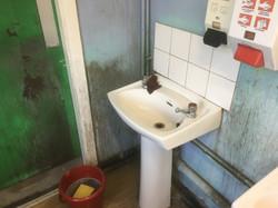 Workshop Washroom Deep Clean