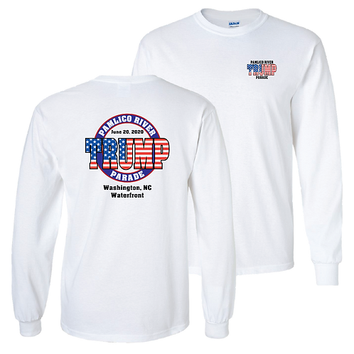 Official Pamlico River Trump Parade long sleeve shirt