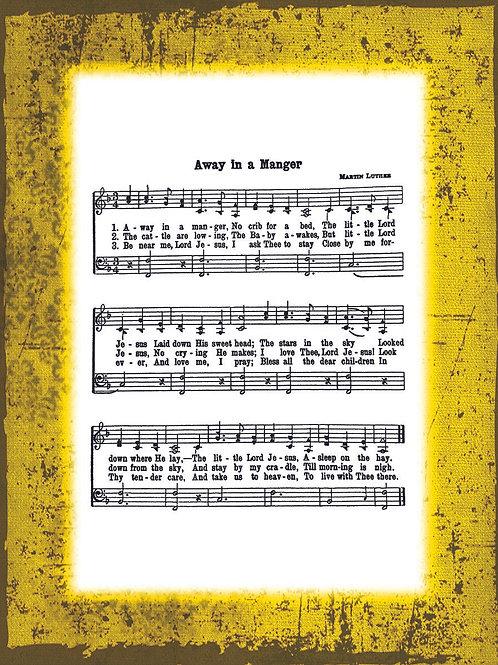My Favorite Hymn - YELLOW border