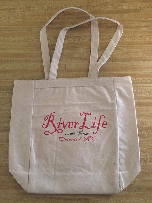 River Life Tote Bag - MEDIUM