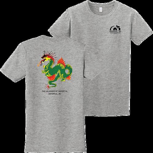 Zelda 1987 - Sport grey short sleeve tee