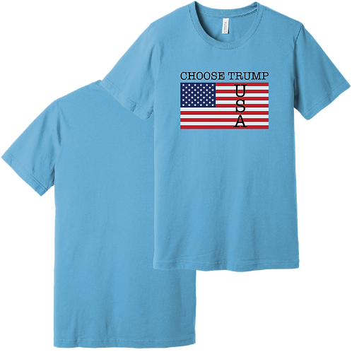 Choose Trump USA short sleeve t-shirt