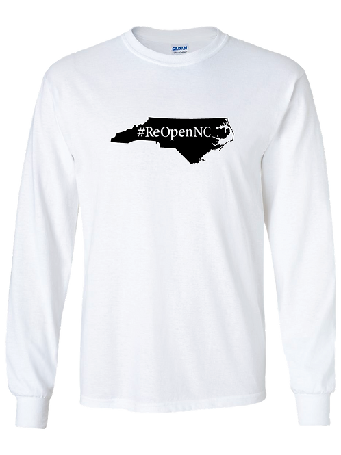 ReOpenNC long sleeve shirt