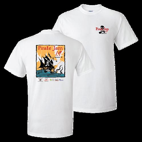 Pirate Jam 1.9 short sleeve shirt - ladies