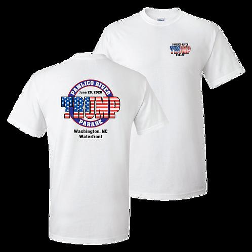 Official Pamlico River Trump Parade short sleeve shirt