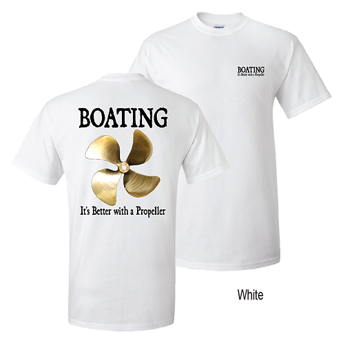 Boating - It's Better With a Propeller