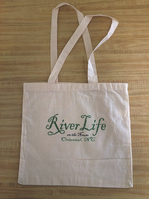 River Life Tote Bag - FLAT
