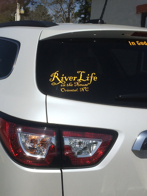 River Life decal