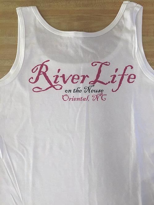 River Life - ladies tank top