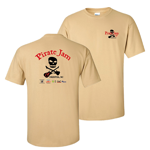 Pirate Jam 1.9 short sleeve shirt - new design