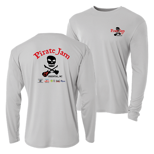 Pirate Jam 1.9 long sleeve Performance shirt - new design