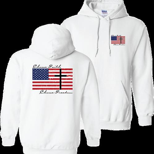 Choose Faith Choose Freedom hoodie