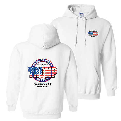 Official Pamlico River Trump Parade pocket Hoodie